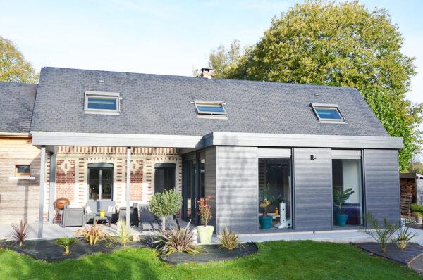 Extension maison alu