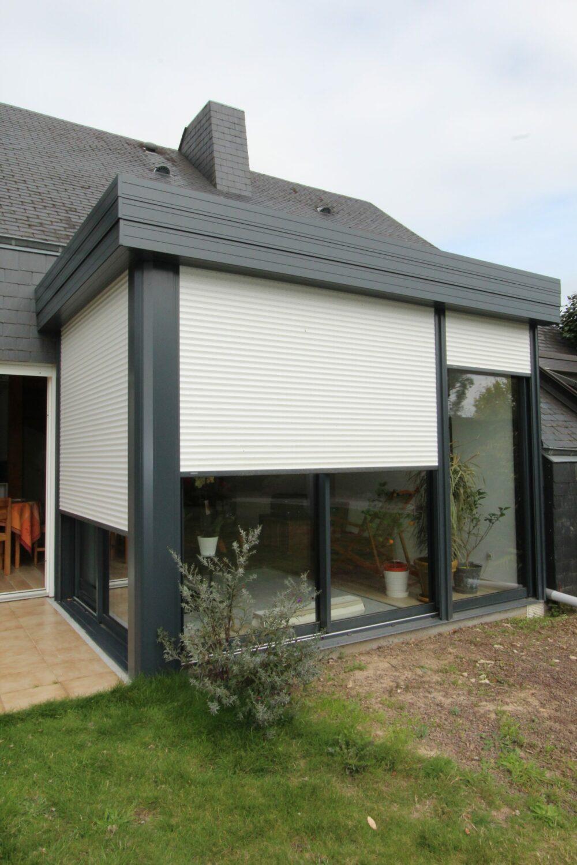 Véranda-Extension maison à Rennes