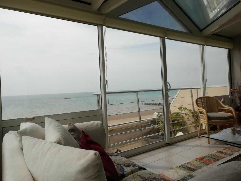 Véranda vue sur Mer en Normandie