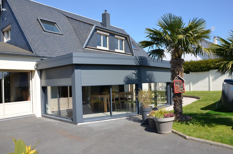 Installation d'une Véranda toiture plate Le Havre